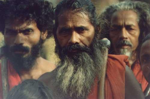 Wanniya-laeto ('Vedda') elders of Dambana