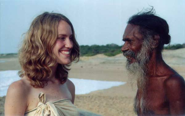 American anthropologist Jill Priest and Danigala Vedda Chief Randunu Wanniya